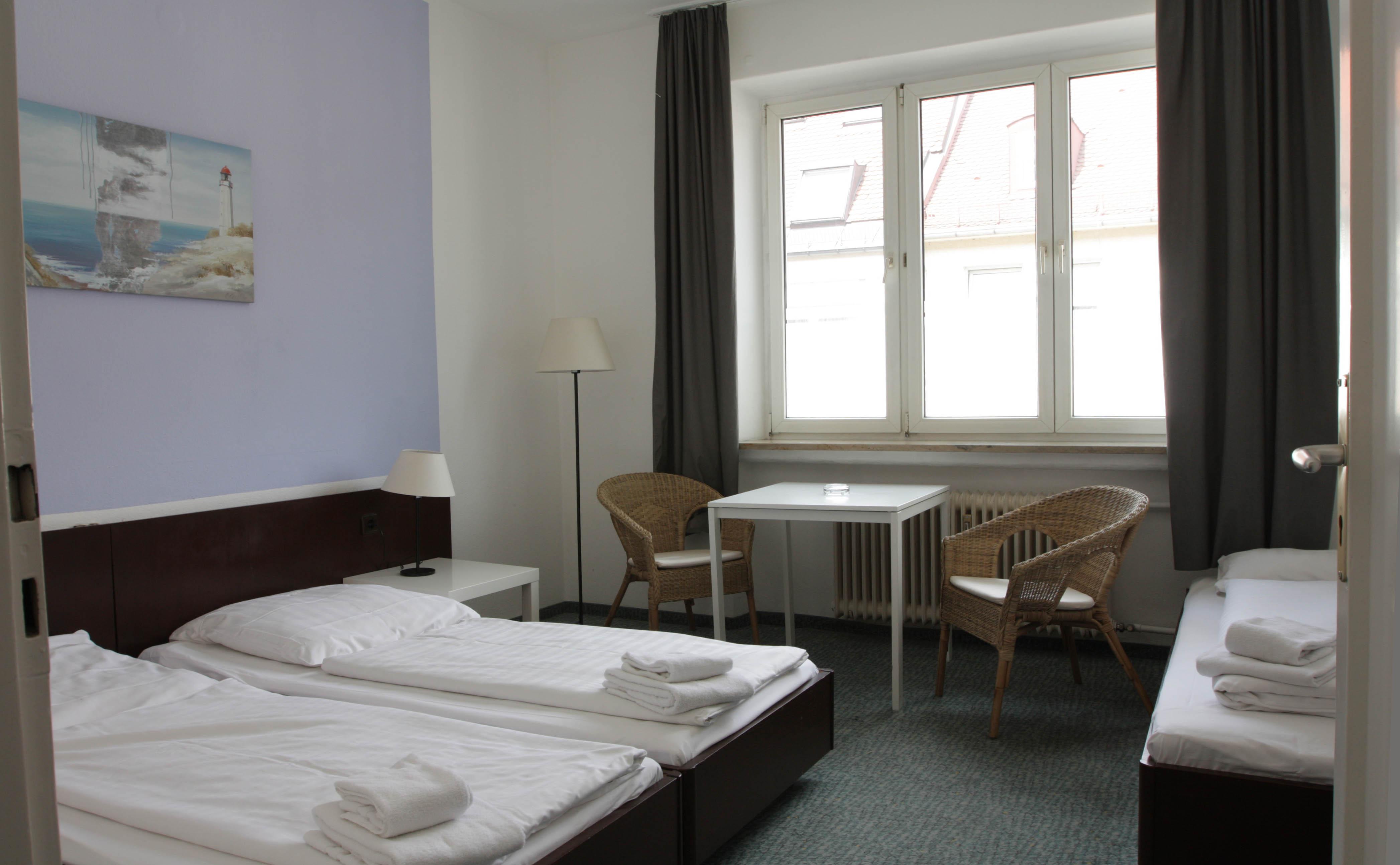 Mehrbettzimmer für drei Personen